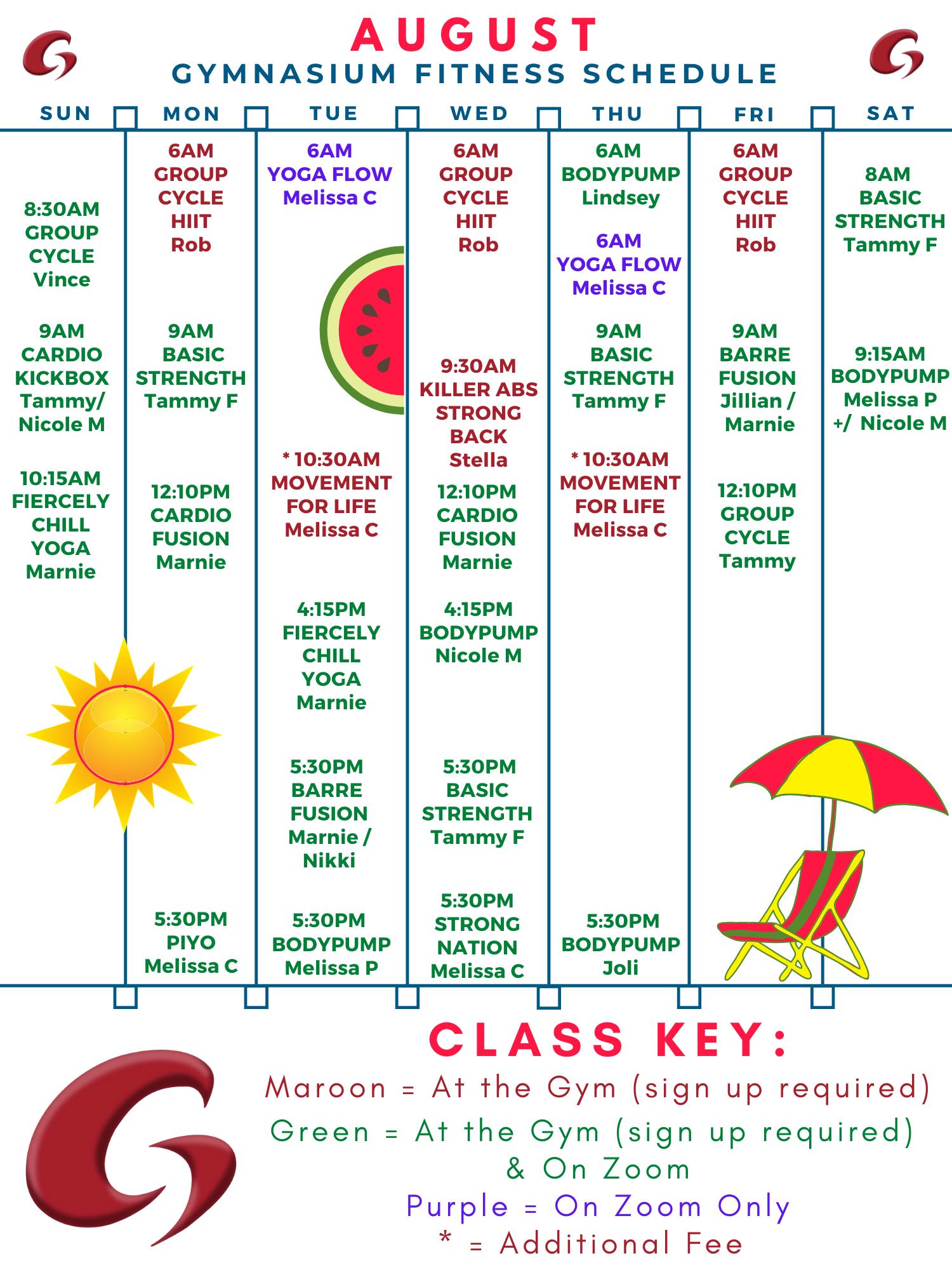 August 2021 Schedule (1)